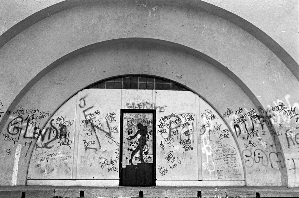 The Bandshell, 1976 by Larry Racioppo