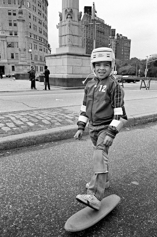 Skateboarder, 1978 by Larry Racioppo