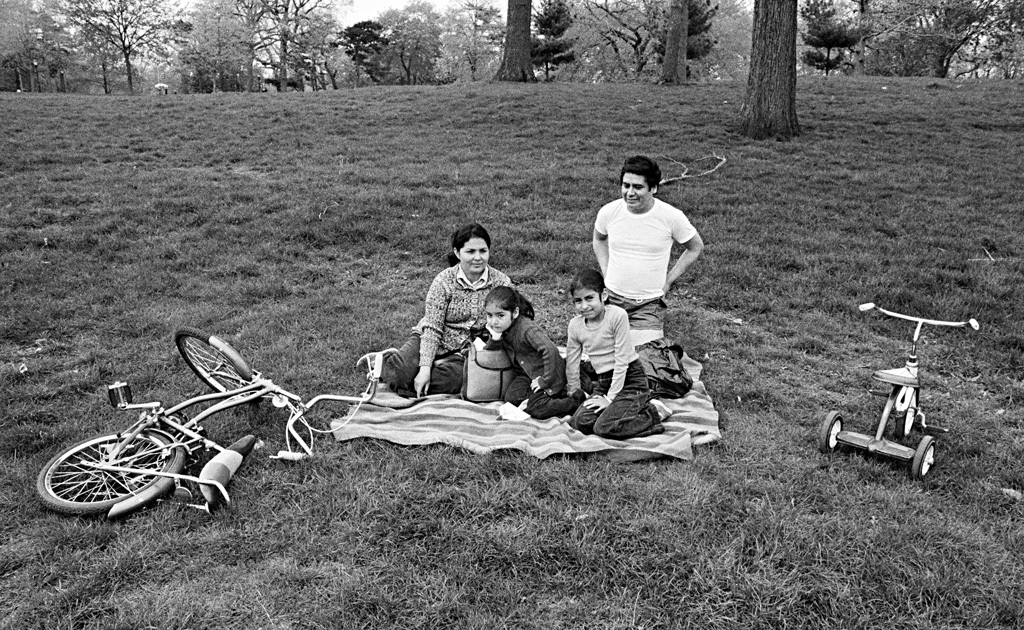 Picnicking Family, 1978 by Larry Racioppo