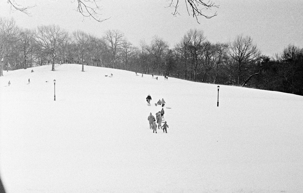 Sleigh Riders, 1979 by Larry Racioppo