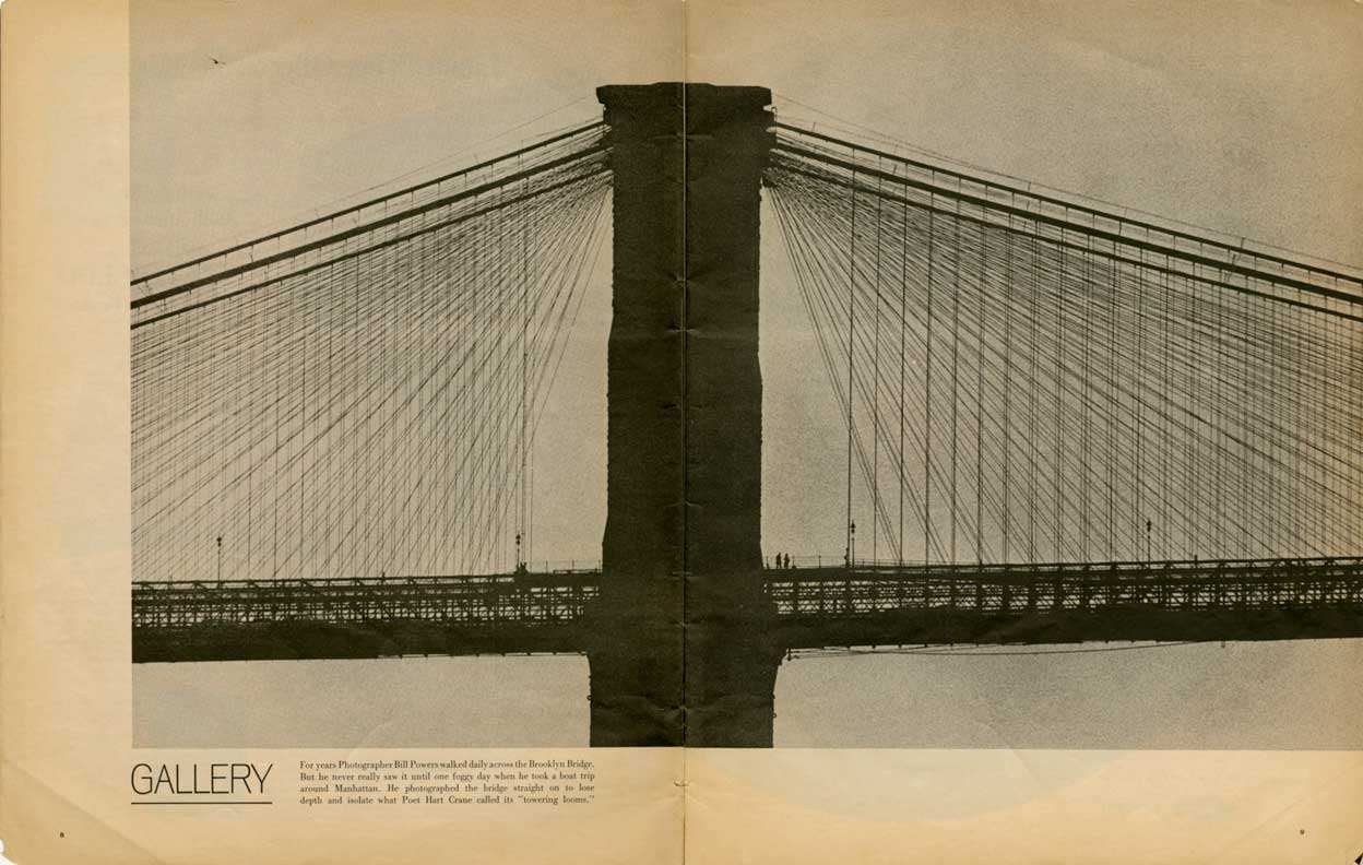 Brooklyn Bridge, Life Magazine, Jan. 30, 1970