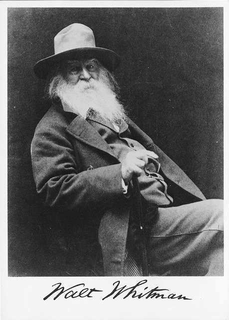 Walt Whitman-Potrait