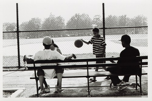 Shabazz, Jamel. Summertime. 2009. The Brooklyn Collection, Brooklyn Public Library.