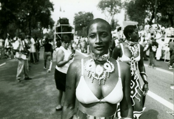 Photo of woman at West Indian Day Parade