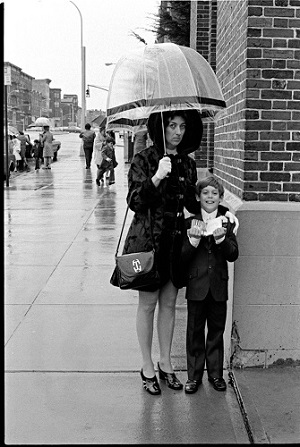 Millie and John, Fourth Avenue, 1971 by Larry Racioppo