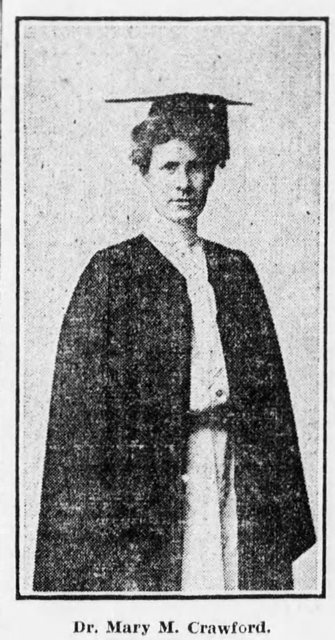 Mary Crawford-Cap and Gown