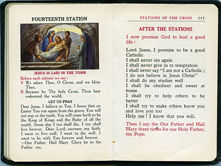 The 14th Station, Little Child of God Handbook, 2015