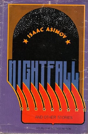 Cover of first edition of Nightfall and Other Stories by Issac Asimov