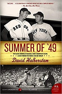 Book Jacket for Summer of '49 by David Halberstam