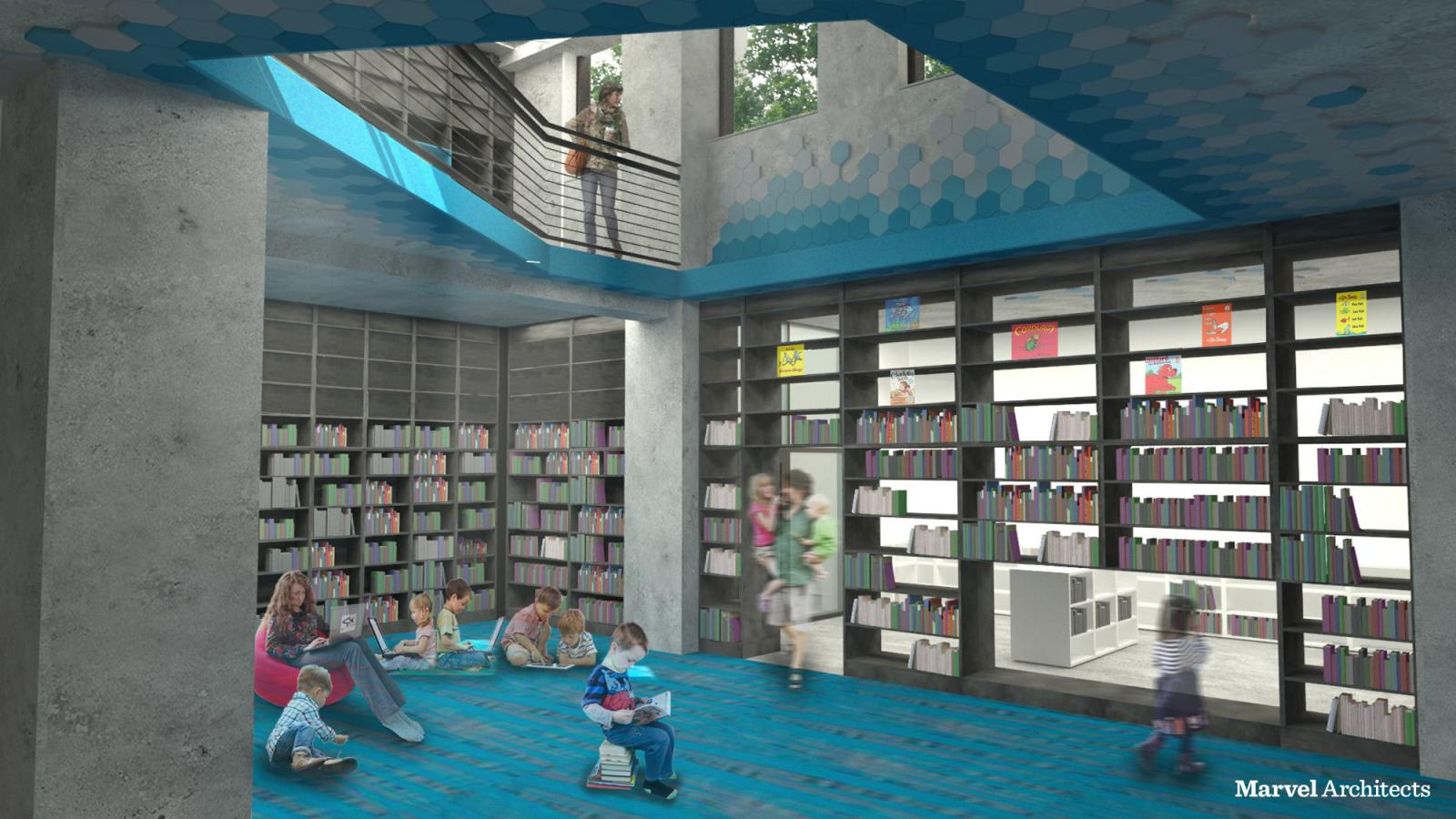 Proposed Design of Brooklyn Heights Library Children's Area