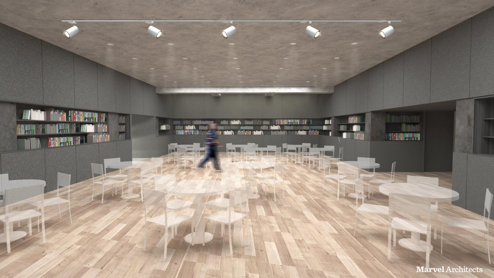 Proposed Design of Brooklyn Heights Library Multipurpose Room