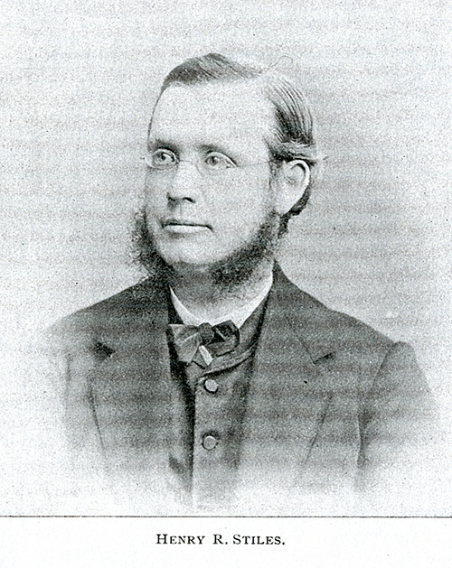 Photo of a young Henry R. Stiles