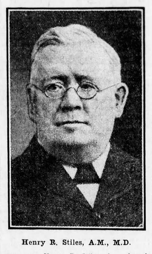 news clipping of Henry R. Stiles in later years