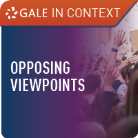 Gale In Context: Opposing Viewpoints - resource image