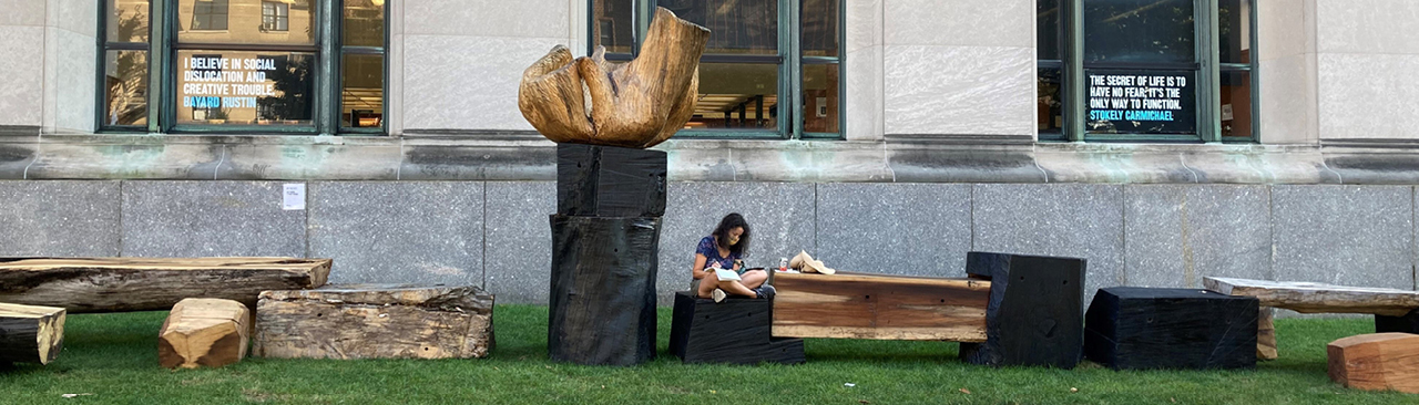 Outdoor Living Room | Brooklyn Public Library