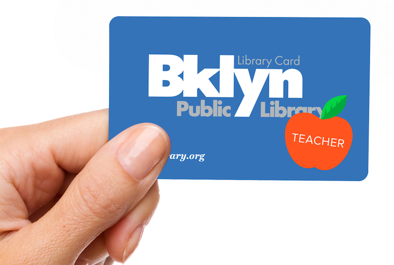 BPL educator library card