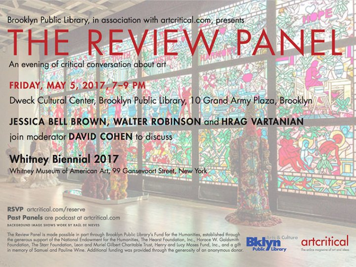 The Review Panel at the Brooklyn Public Library
