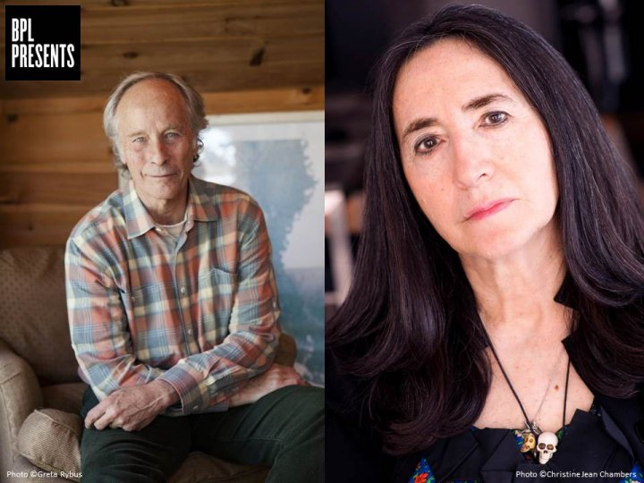 Richard Ford with Francine Prose, BPL Program