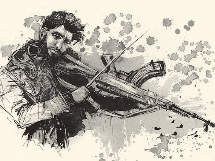 Molly Crabapple and Marwan Hisham present Brothers of the Gun: A Memoir of the Syrian War, BPL Program