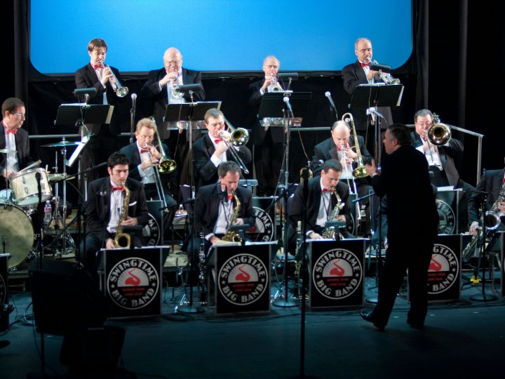 Plaza Swing Series: Swingtime Big Band