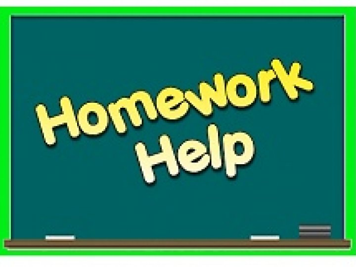 Who Needs Homework Help?