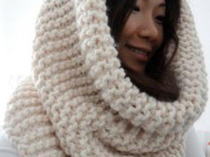 Loom Knit A Cowl Infinity Scarf Brooklyn Public Library