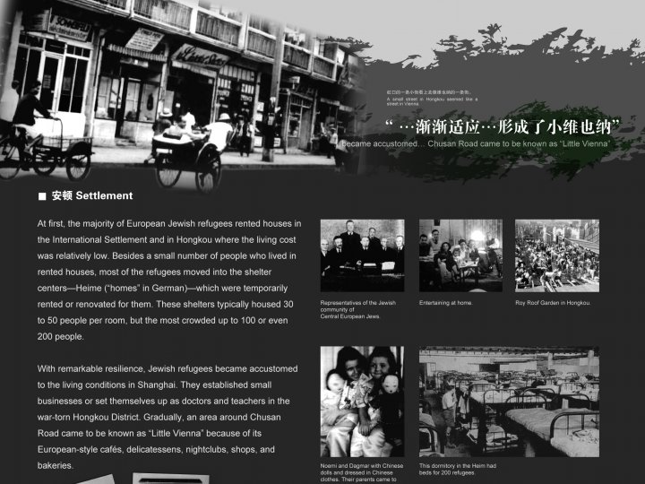 Refugee Life in Shanghai