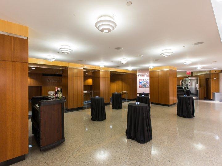 Lobby Floor Set for Cocktails