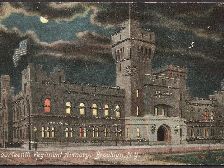 Fourteenth Regiment Armory, 1910's