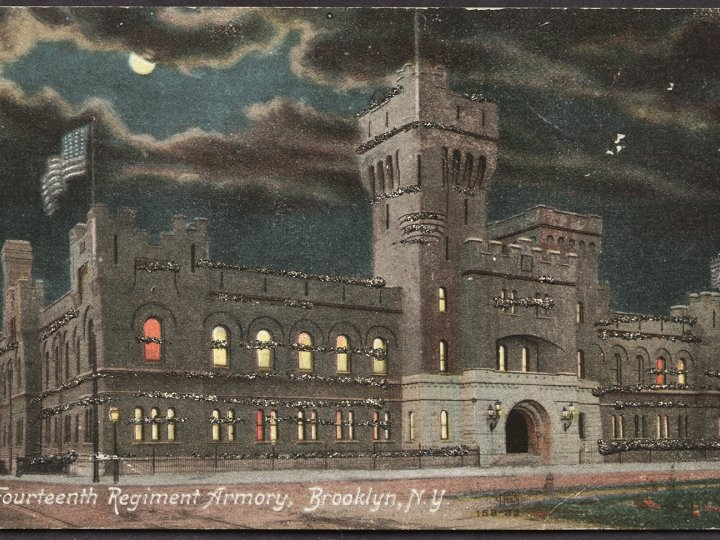 Fourteenth Regiment Armory, 1910's