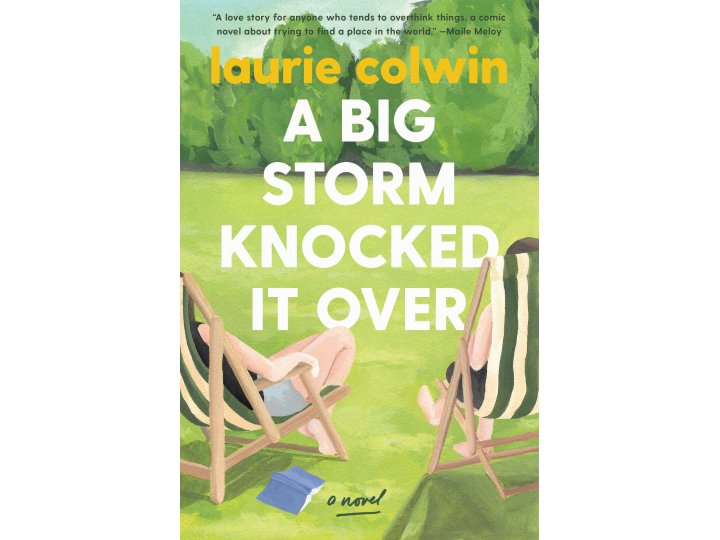 A Big Storm Knocked It Over by Laurie Colwin (cover design by Olivia McGiff)