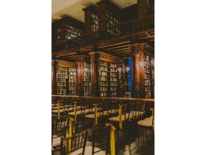 Dining in the Stacks