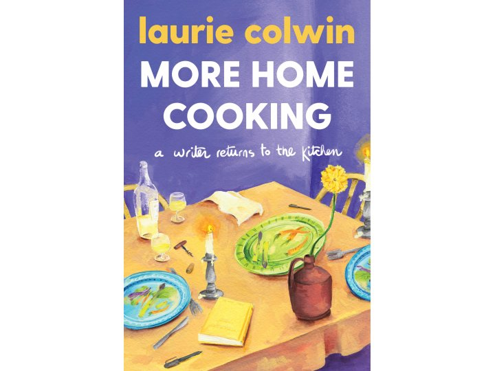 More Home Cooking by Laurie Colwin (cover design by Olivia McGiff)