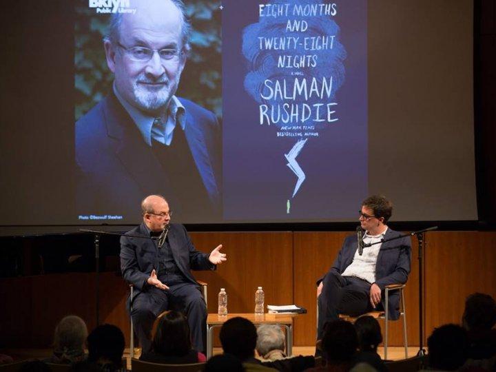 Salman Rushdie with Joel Whitney, October 2015