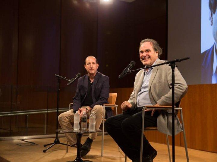 Oliver Stone and Ben Wizner, September 2016