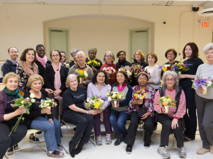 Brooklyn Public Library: Services for Older Adults Flower Program at Carroll Gardens
