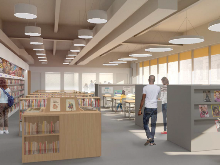 Final Design: Main Reading Room