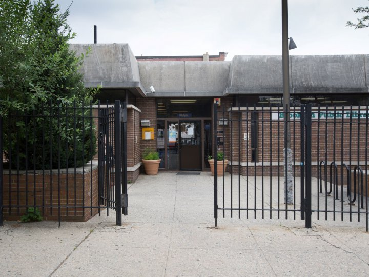 Greenpoint's library from 1973-2017