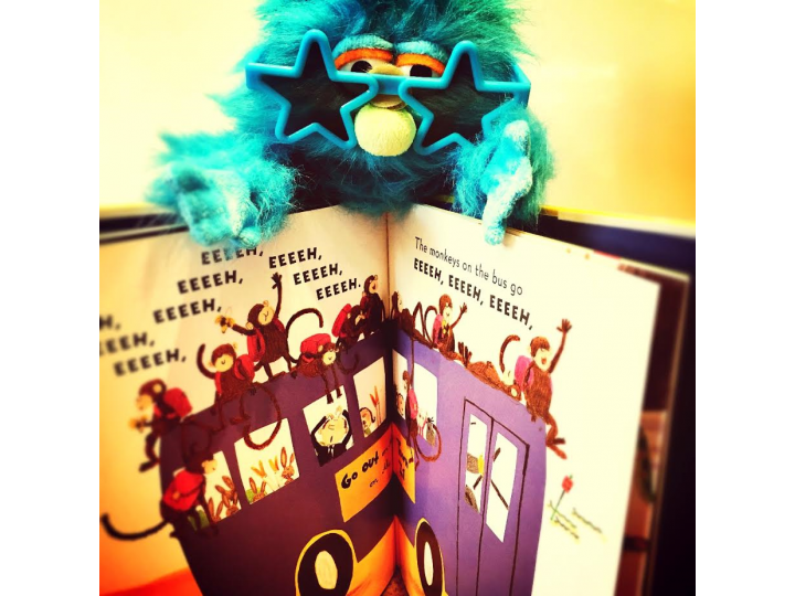 Puppets and books