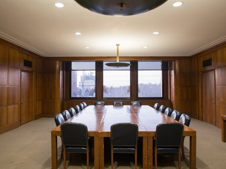 BPL's Central Library Trustees Room