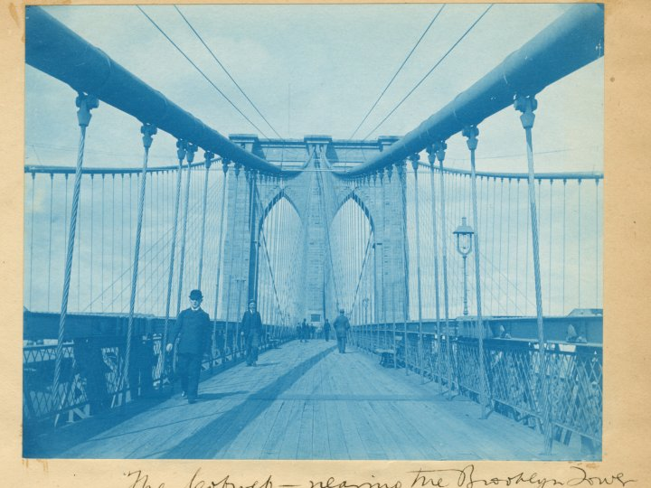 Brooklyn Bridge, 1880's