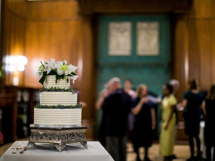 Wedding Cake in Focus