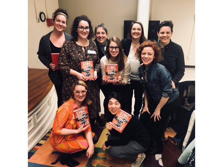 Eagles Book Club event at Carroll Gardens Branch
