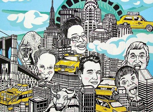 I ♥ New York by Noboo Kawaguchi, BPL Exhibition