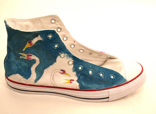 Sneakers for Social Justice: Justin Fonrose/ Animal Equality, 2nd prize