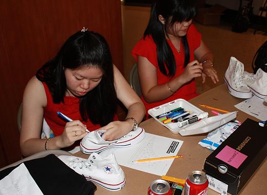 Sneaker for Social Justice - Workshop 3: Sneaker Customization