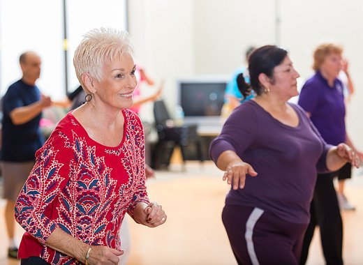 Creative Aging: Active & Moving - Salsa - The Rhythm of Passion