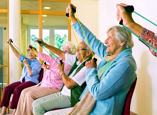 "Older Adult Wellness -- ""Sit Down to Get Down!"""