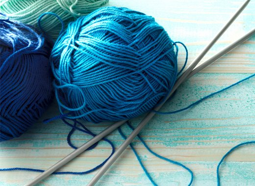 Gather to knit and crochet