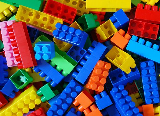 Kids Explore: Legos & Keva planks